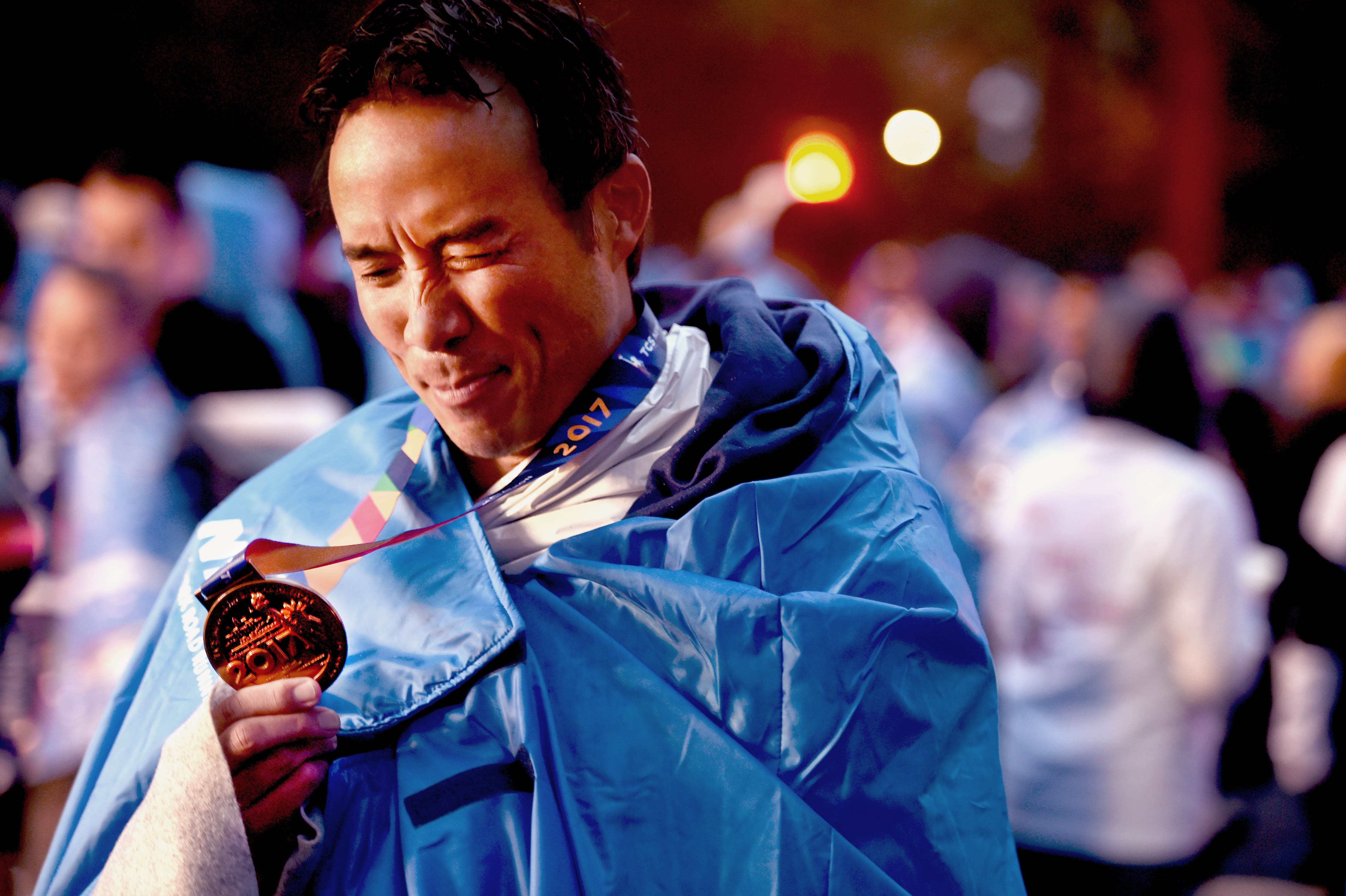 How Allan Wu Trained for the New York Marathon