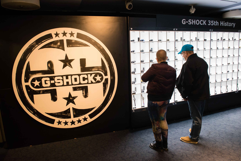 G-Shock Celebrates 35 Years & Talks the Future