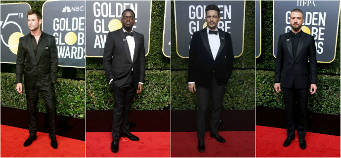 Here's What The 10 Best-Dressed Men At The 75th Golden Globes Wore