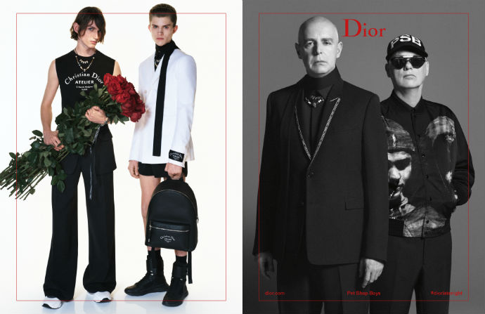 Guess Which Legendary Duo Is Featured In Dior Homme's Latest Spring/Summer 2018 Campaign