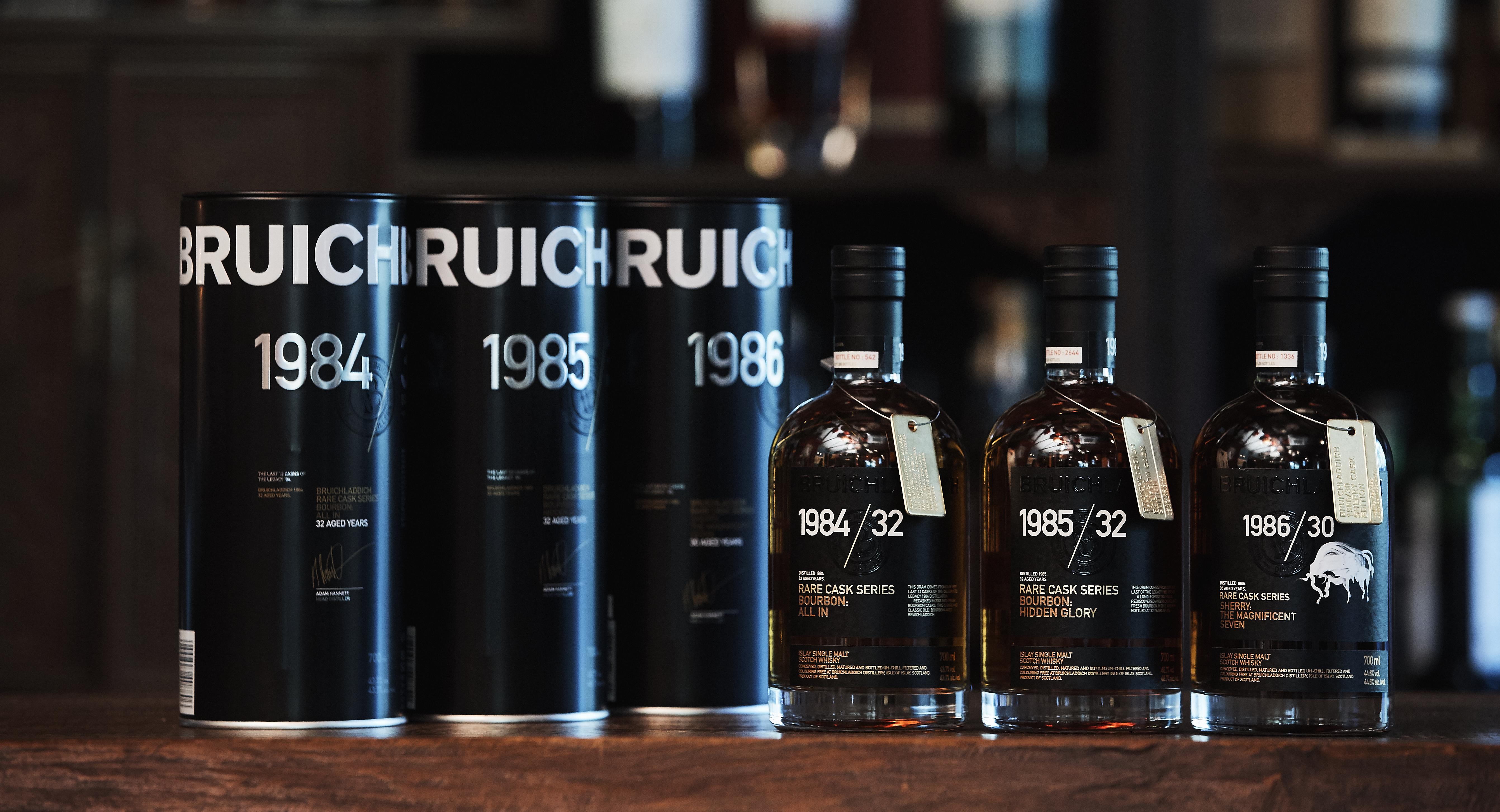 Bruichladdich Launch Rare Cask Series