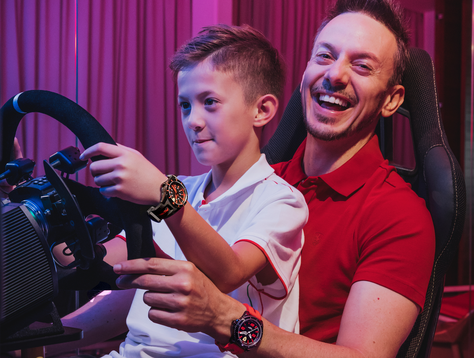 Ferrari Collector Martin Berry Talks About Fatherhood