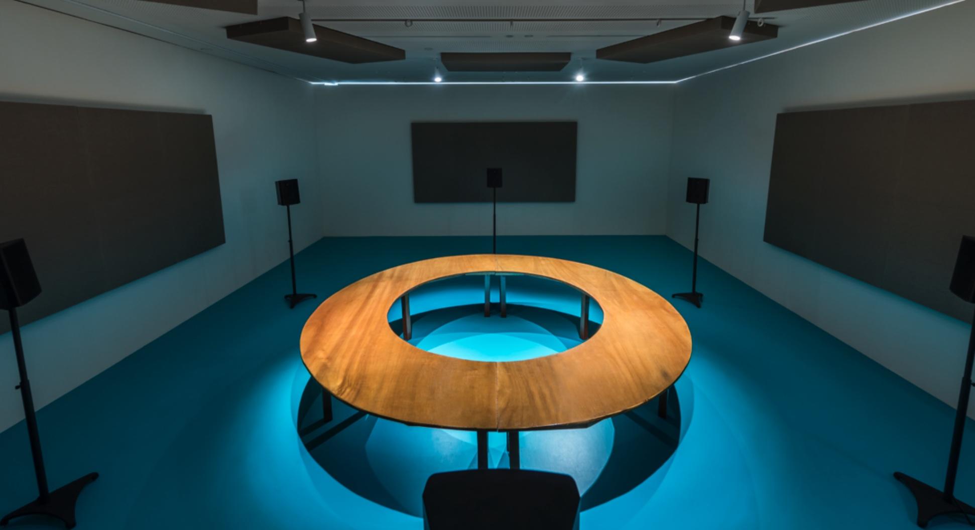 Jeremy Sharma's Exhibition of Sound at Aloft at Hermès