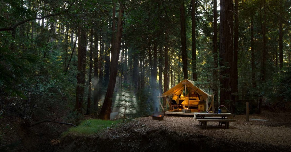 You'll want this slick gear on your next glamping trip