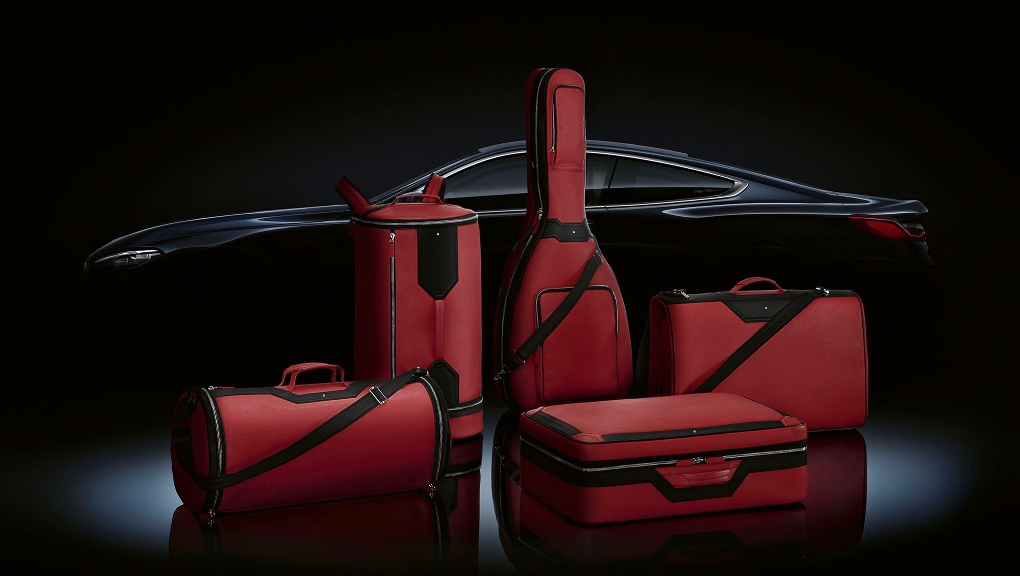 Montblanc's exclusive S$23,000 luggage set fits perfectly into BMW's 8 Series coupé