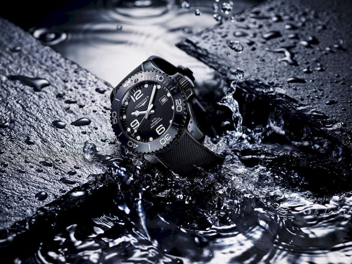 Why divers will love the new Longines HydroConquest Black Ceramic