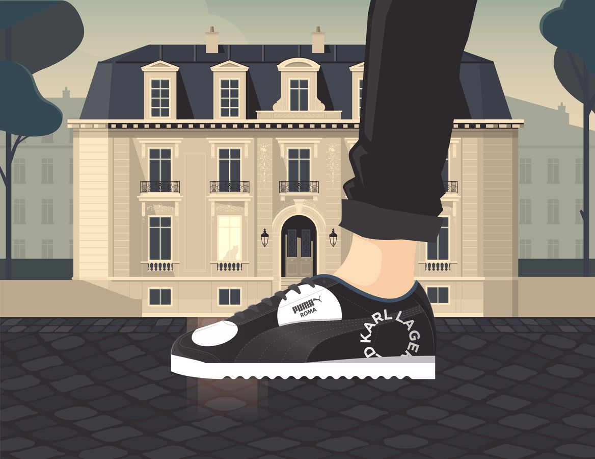 Discover how the Karl Lagerfeld X Puma sneakers bring high fashion to the streets