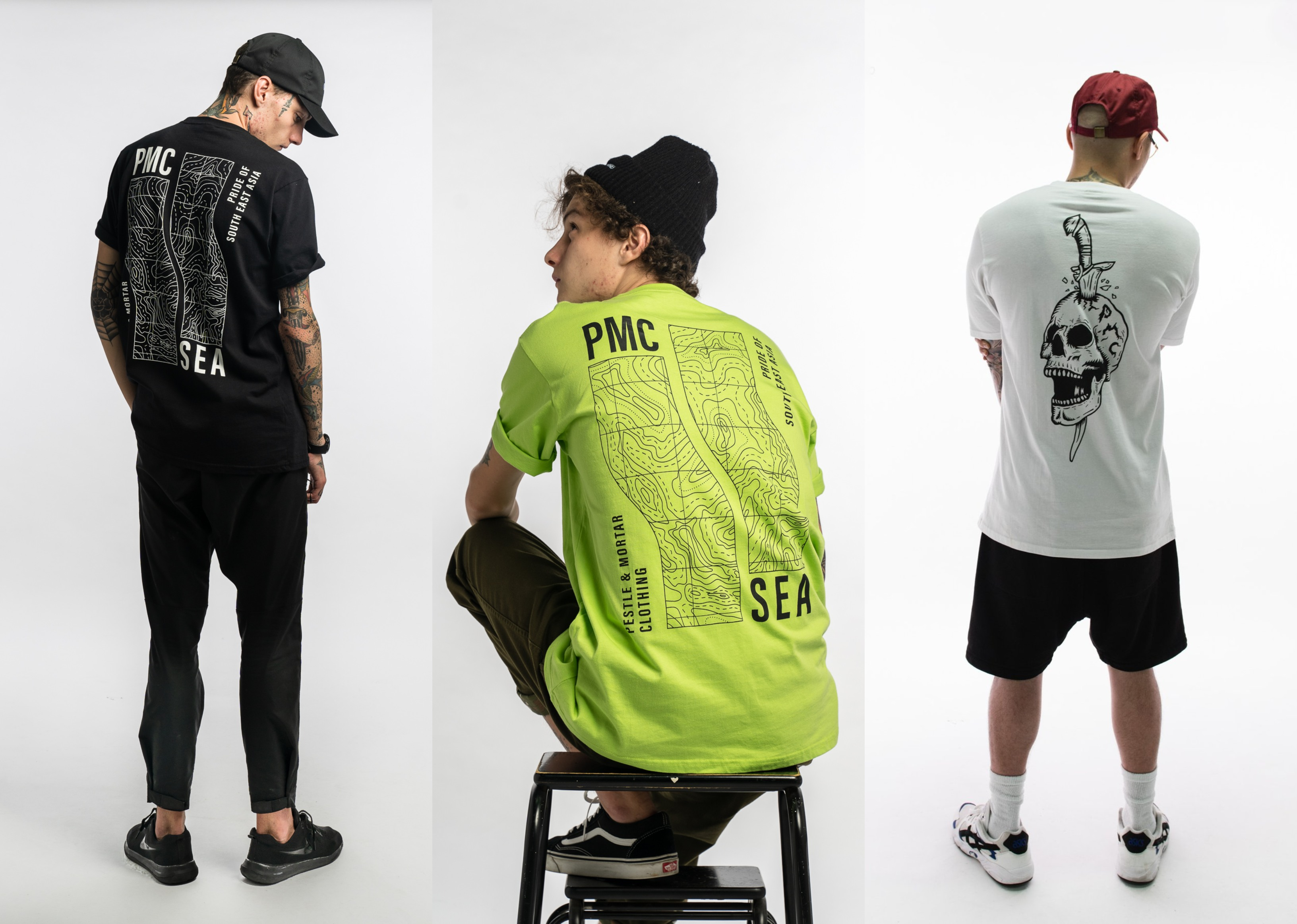 Pestle & Mortar Clothing launches Super Sweaty 2019 collection on brand new website