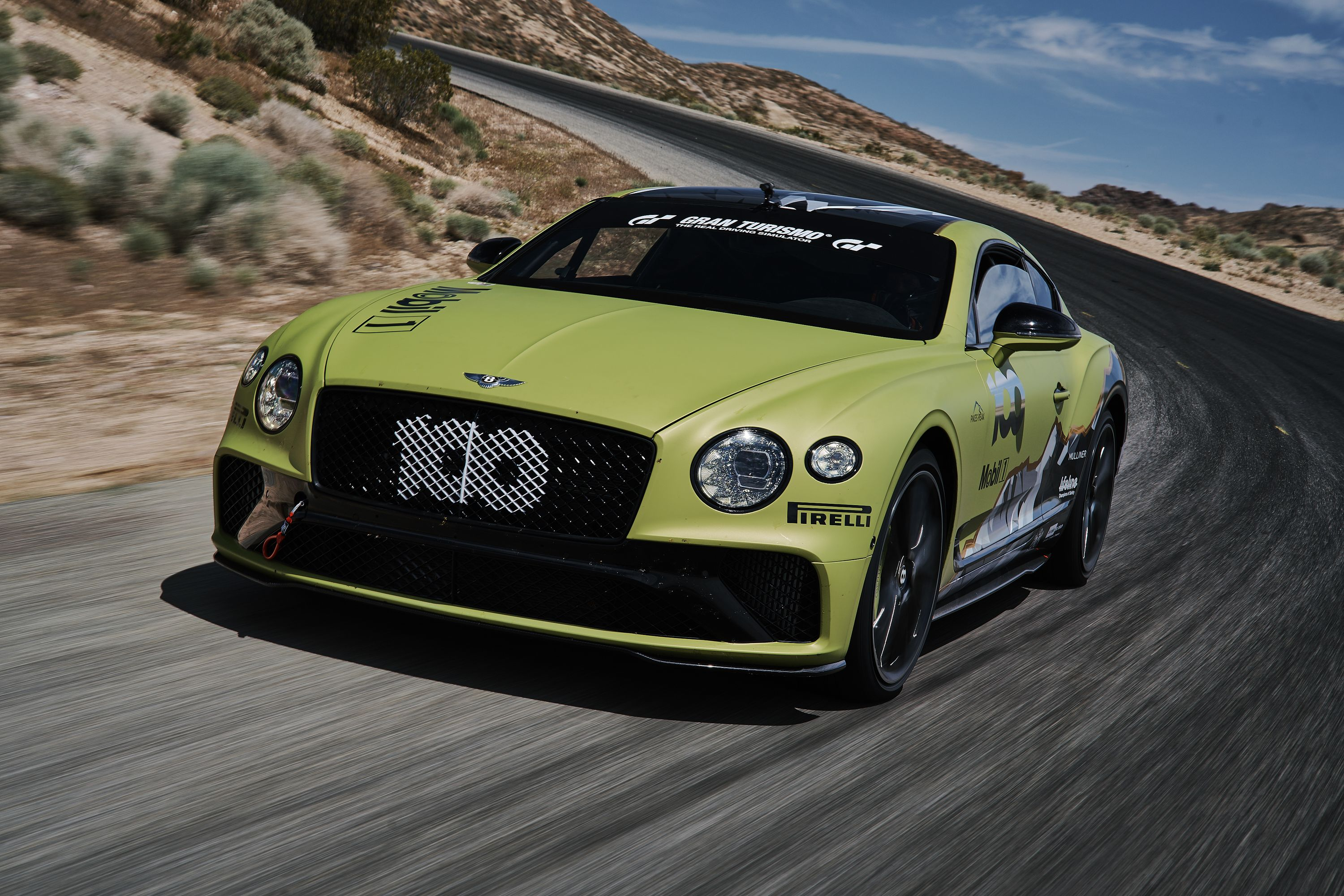 Bentley is bent on breaking the Pikes Peak Hill record
