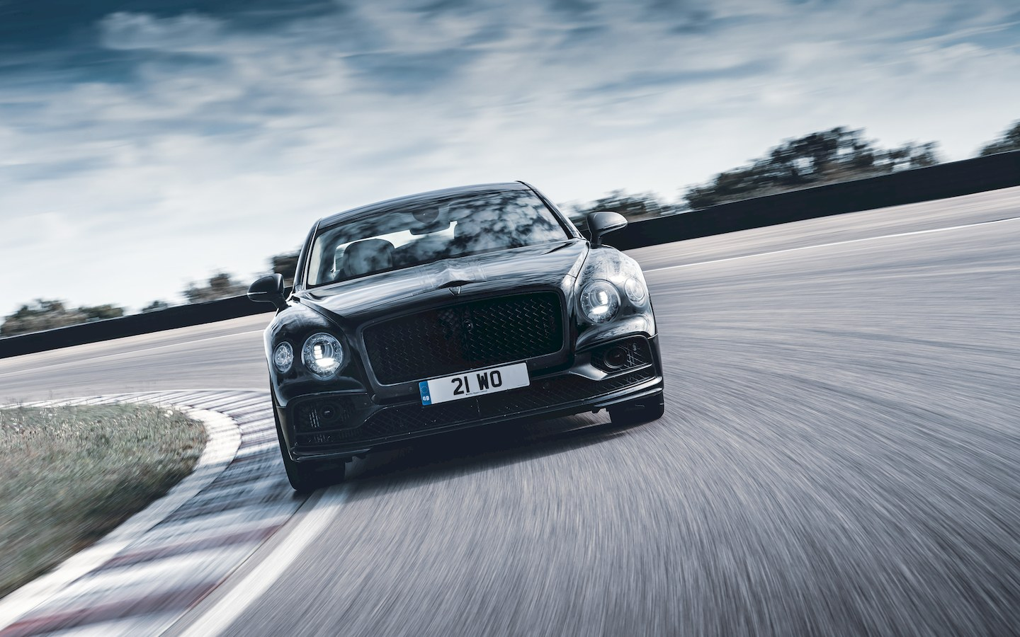 Bentley claims the all-new Flying Spur is the world's most advanced luxury Grand Touring sports sedan