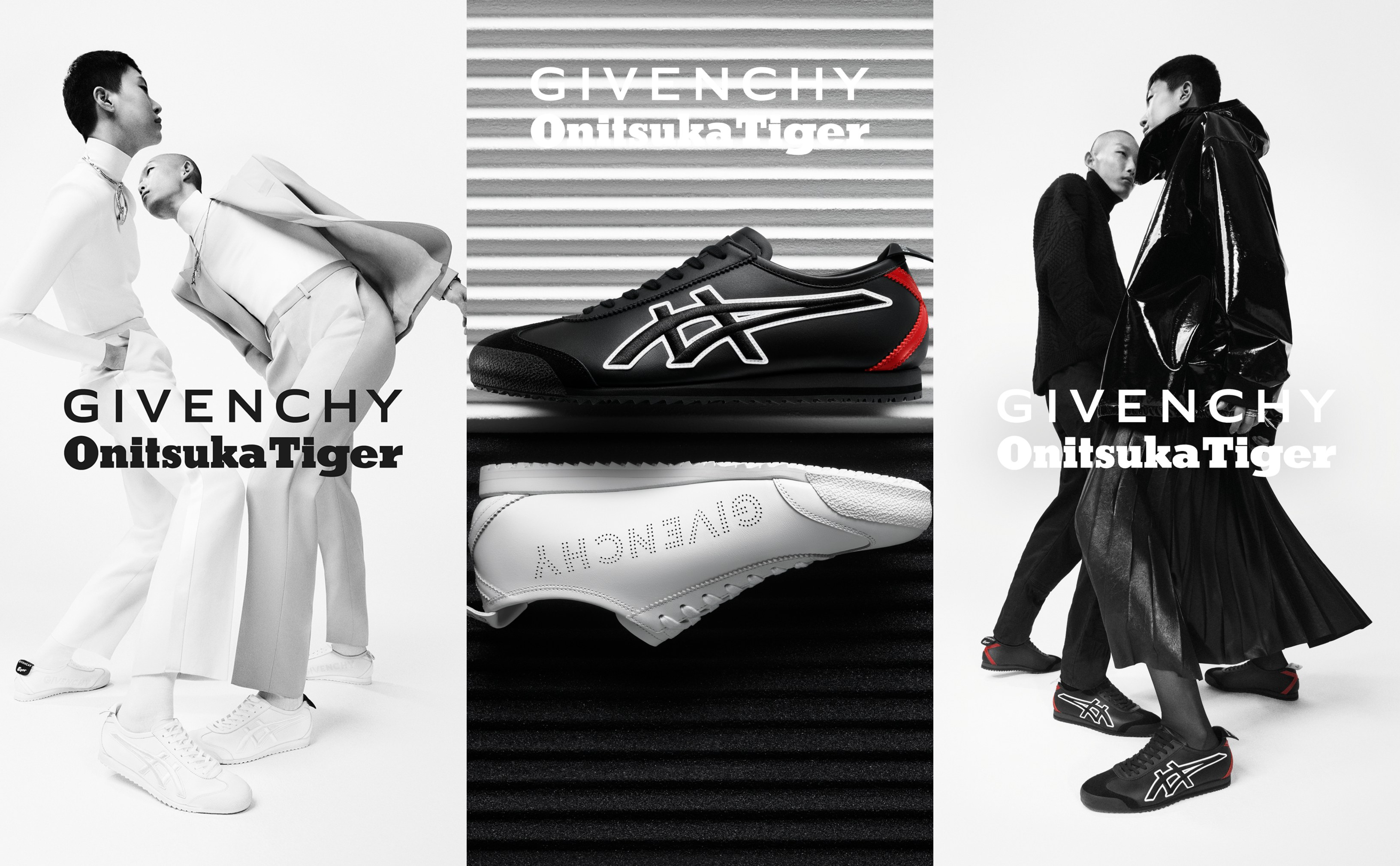 Givenchy and Onitsuka Tiger's surprise sneaker collaboration will up your street style cred