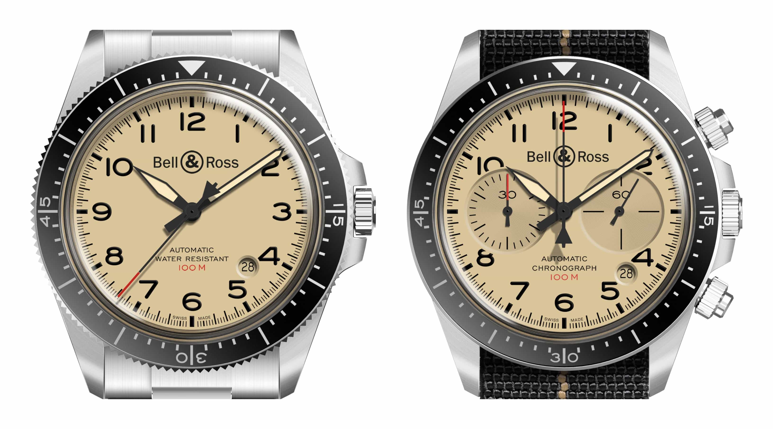 Why Bell & Ross's BR V2 Military Beige Collection is an old school favourite you need