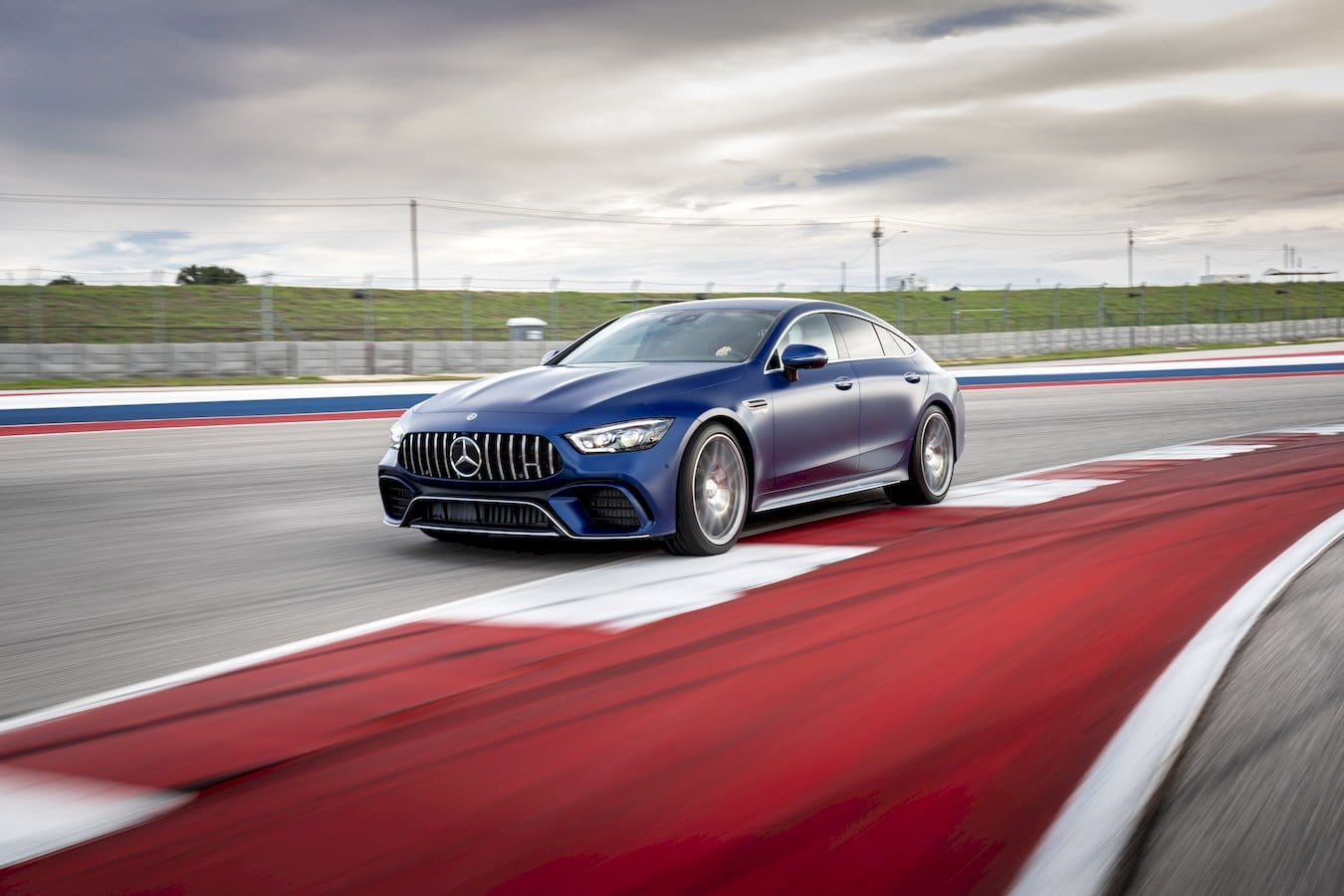 The all-new AMG GT is the most powerful Mercedes 4-Door Coupé