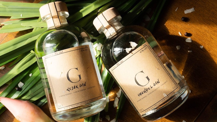 A new local distillery debuts with chendol and rojak gin