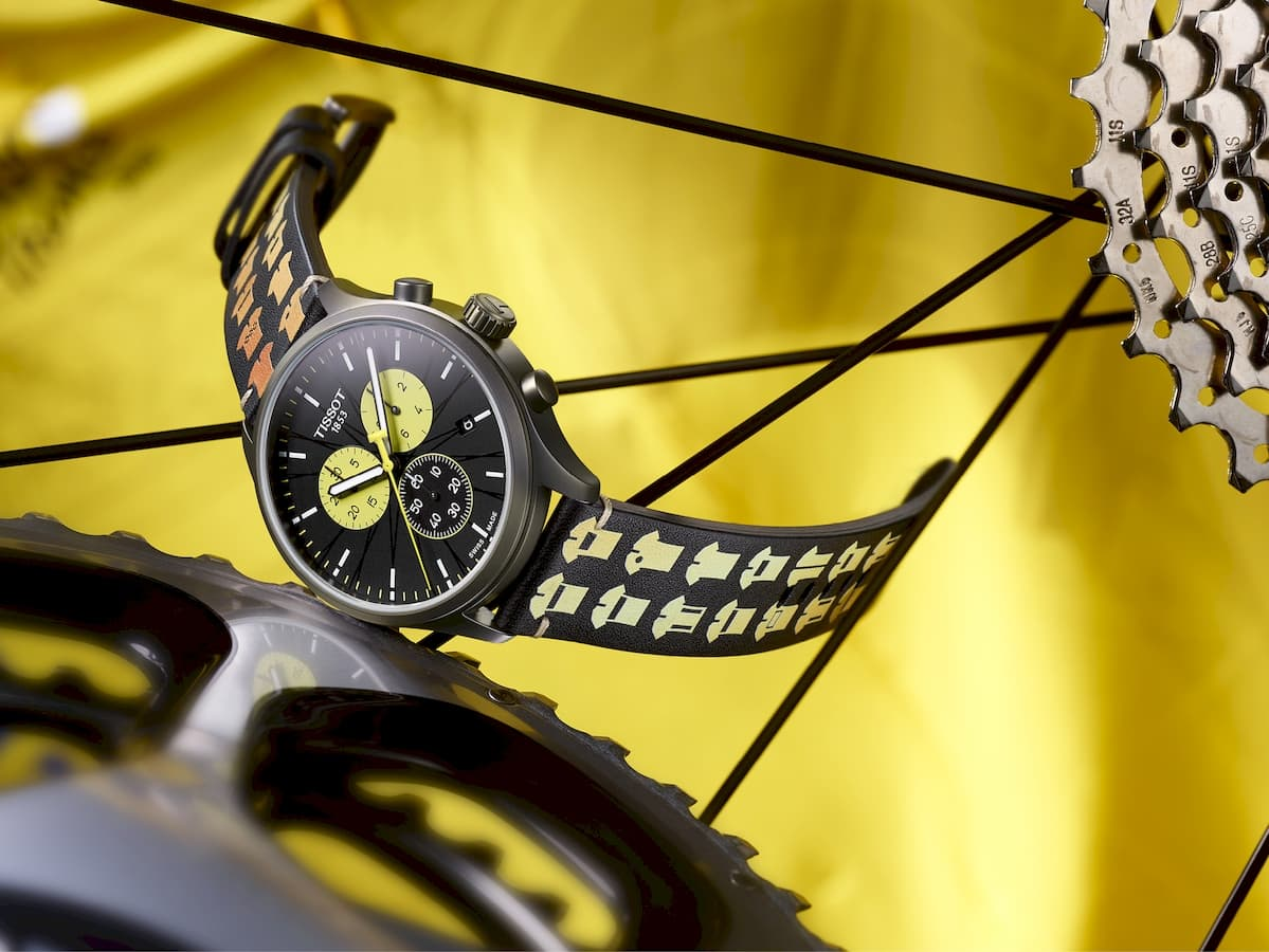 Tissot honours 100th year of the Tour de France yellow jersey with Chrono XL Special Edition