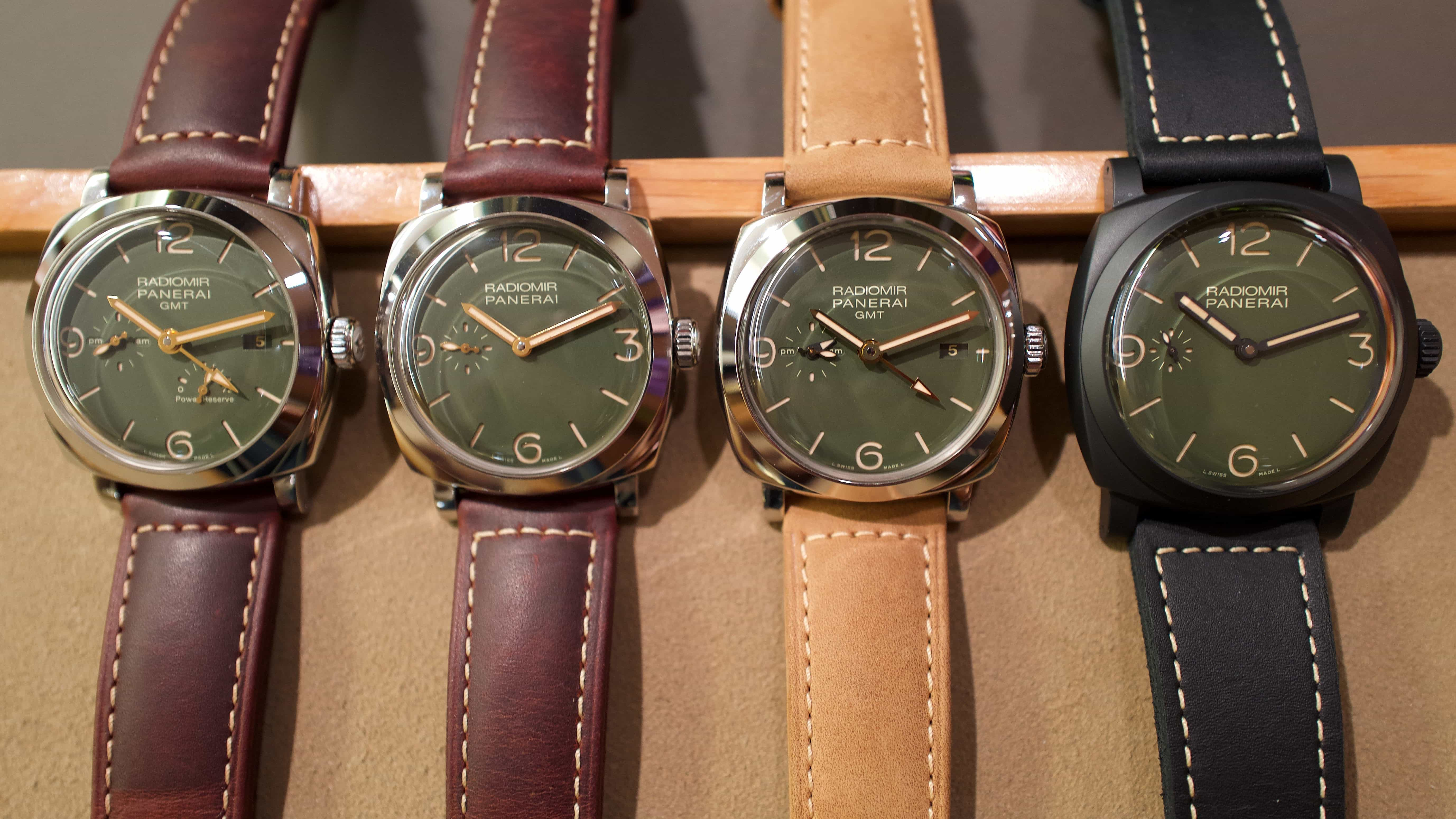 Panerai's Radiomir 1940 brings green back into the mix