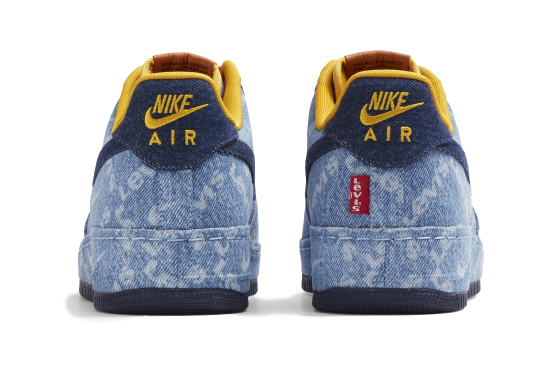 Nike pairs up with Levi's for customisable denim sneakers