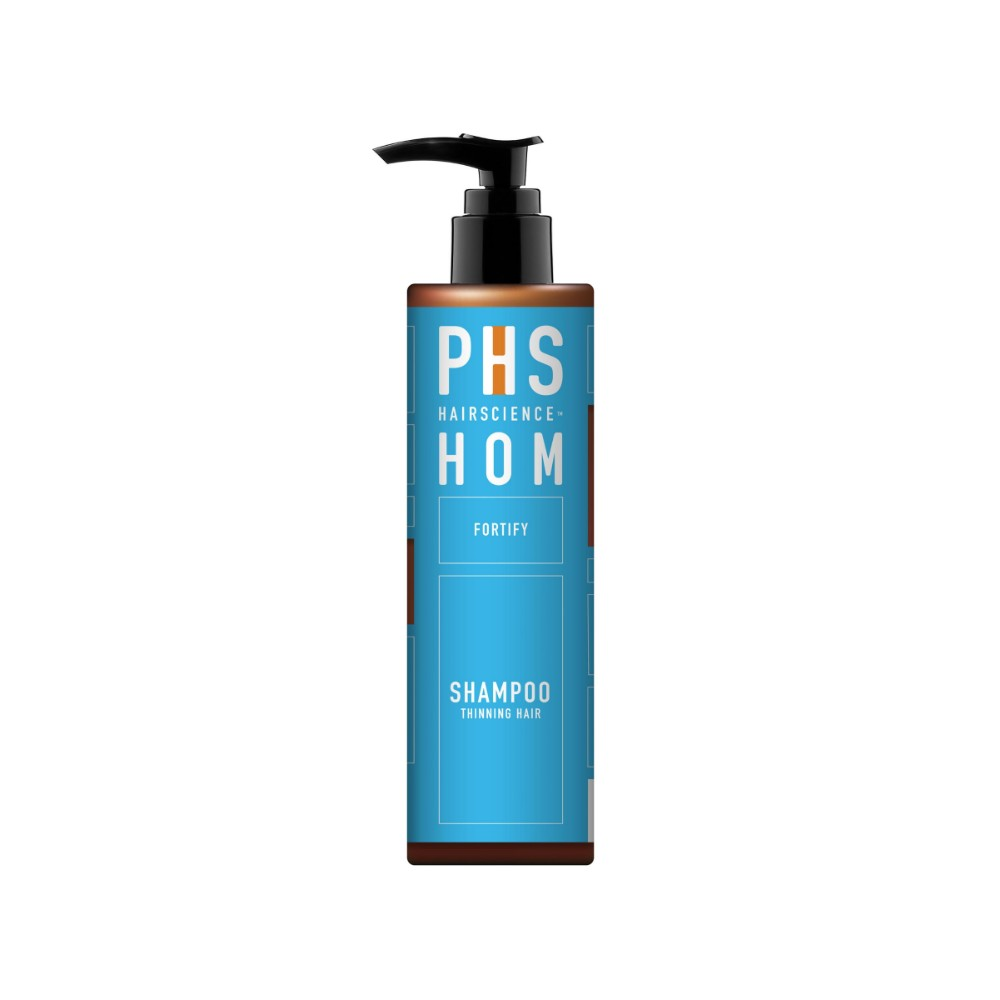 AUGUSTMAN Grooming Awards 2019 Best Shampoo: HOM Fortifying Shampoo. Photo: PHS Hairscience