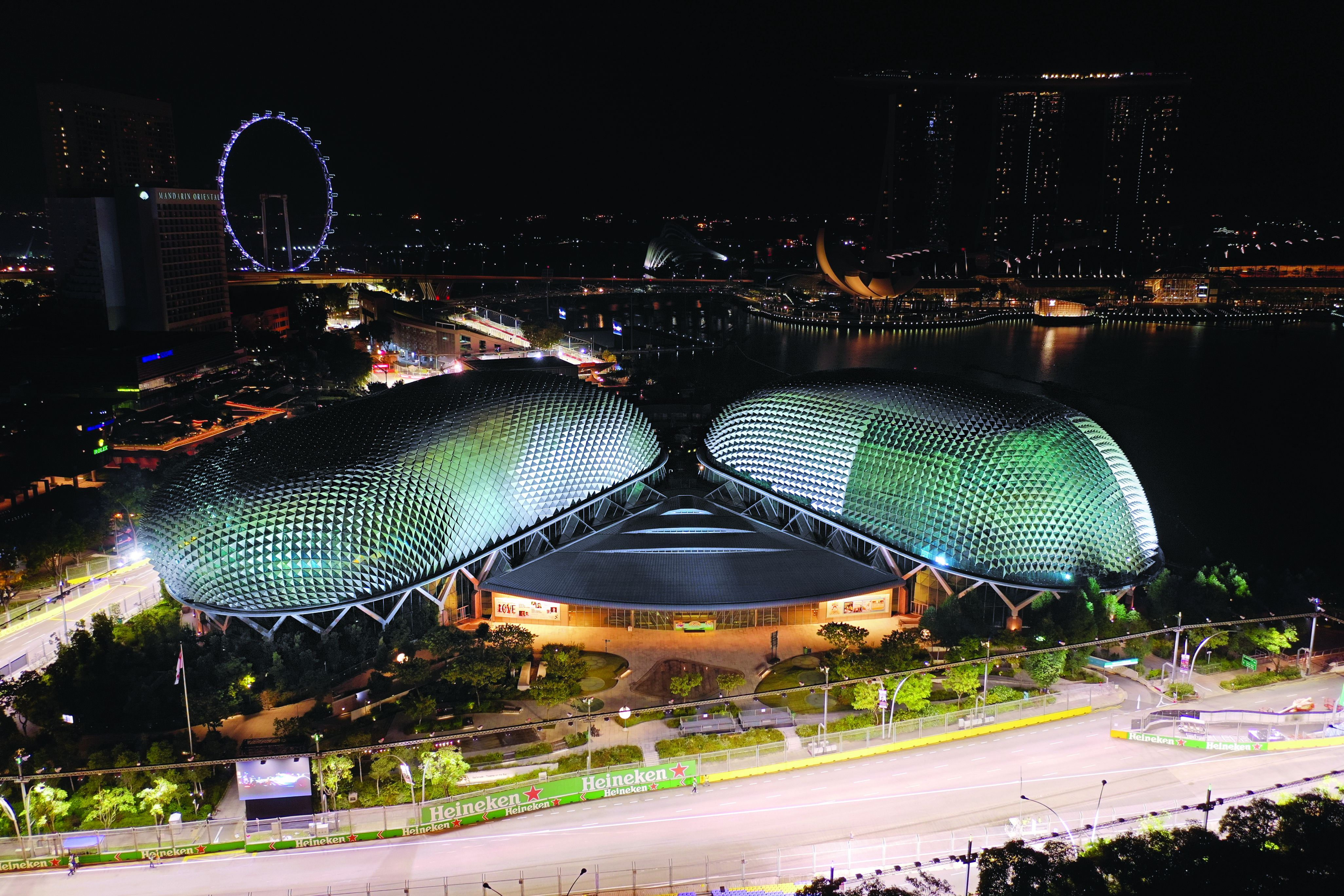 Roberto Grilli: The man who lights up the streets for every Singapore Grand Prix