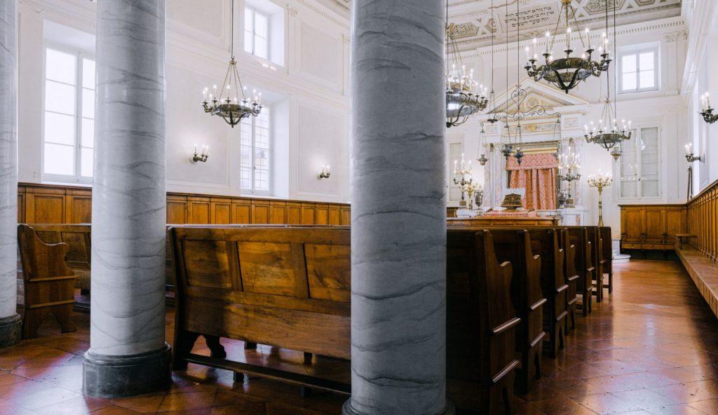 The Sinagoga in Pisa.