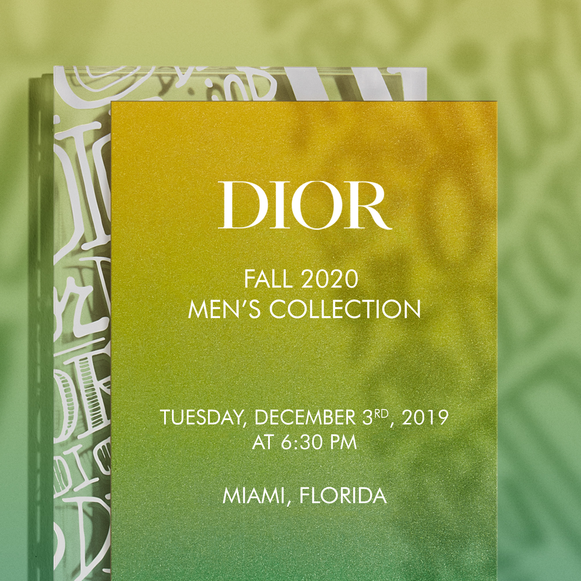 Watch the Dior men pre-fall 2020 Live Streaming Here