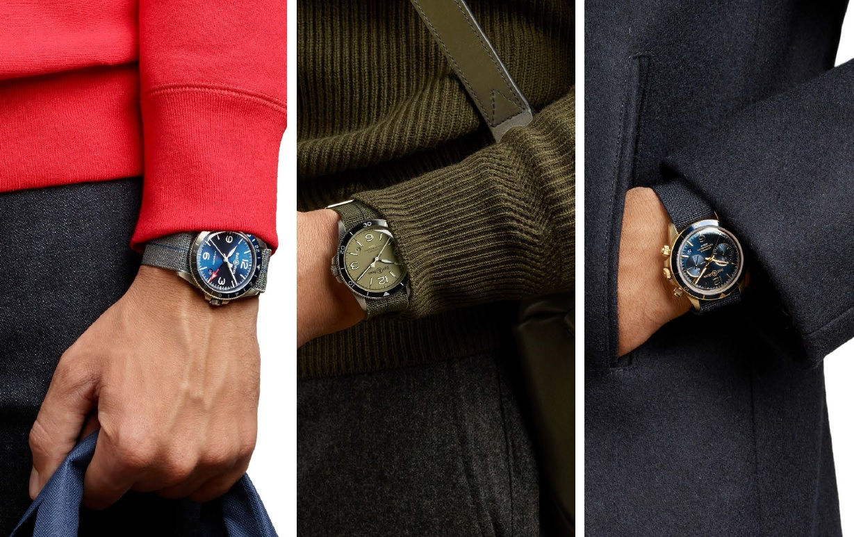 Bell & Ross Brings Military Style Back In New Vintage Trilogy