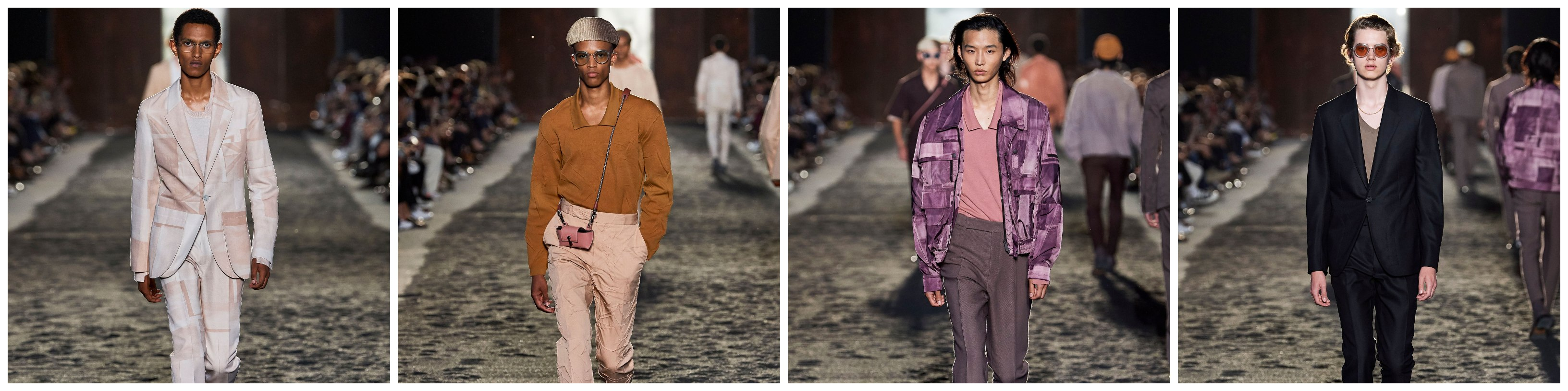 All the top looks showcasing the casual elegance of Zegna's Spring Summer 2020 collection