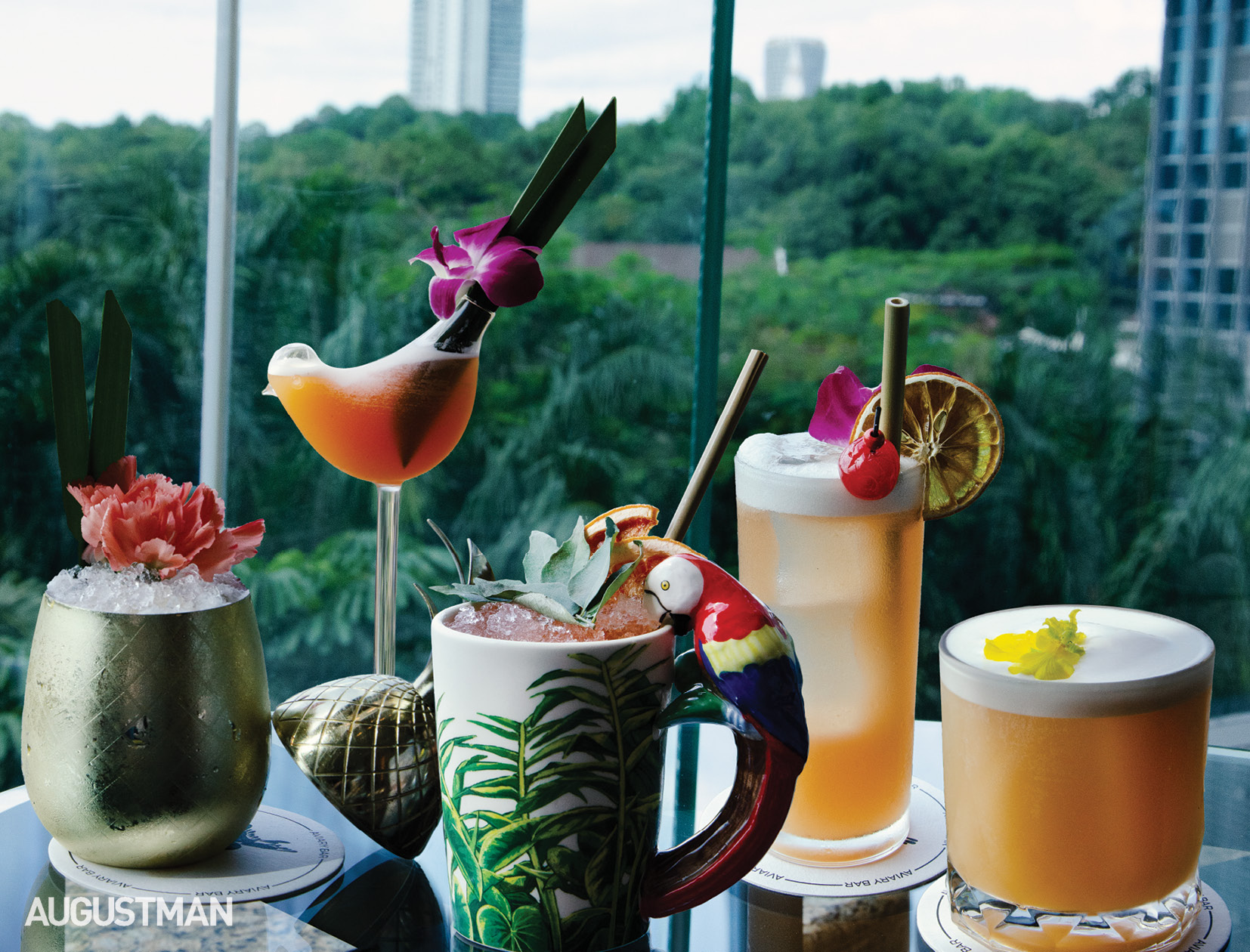 Hilton KL's Iconic Jungle Bird Spreads Wings with Expansive Menu