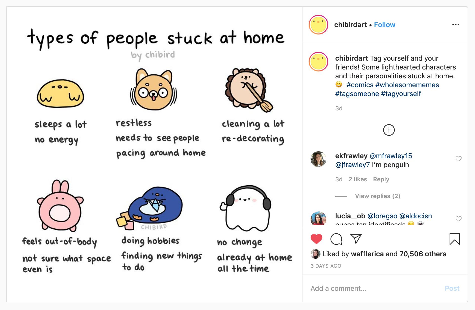 7 Feel-Good Illustrators To Follow On Instagram Right Now
