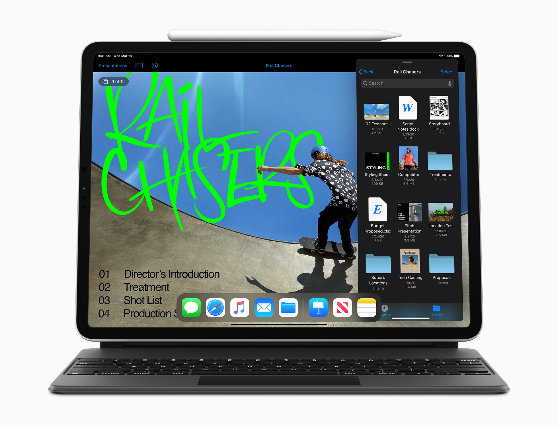 Apple introduces new iPad Pro, Magic Keyboard and MacBook Air