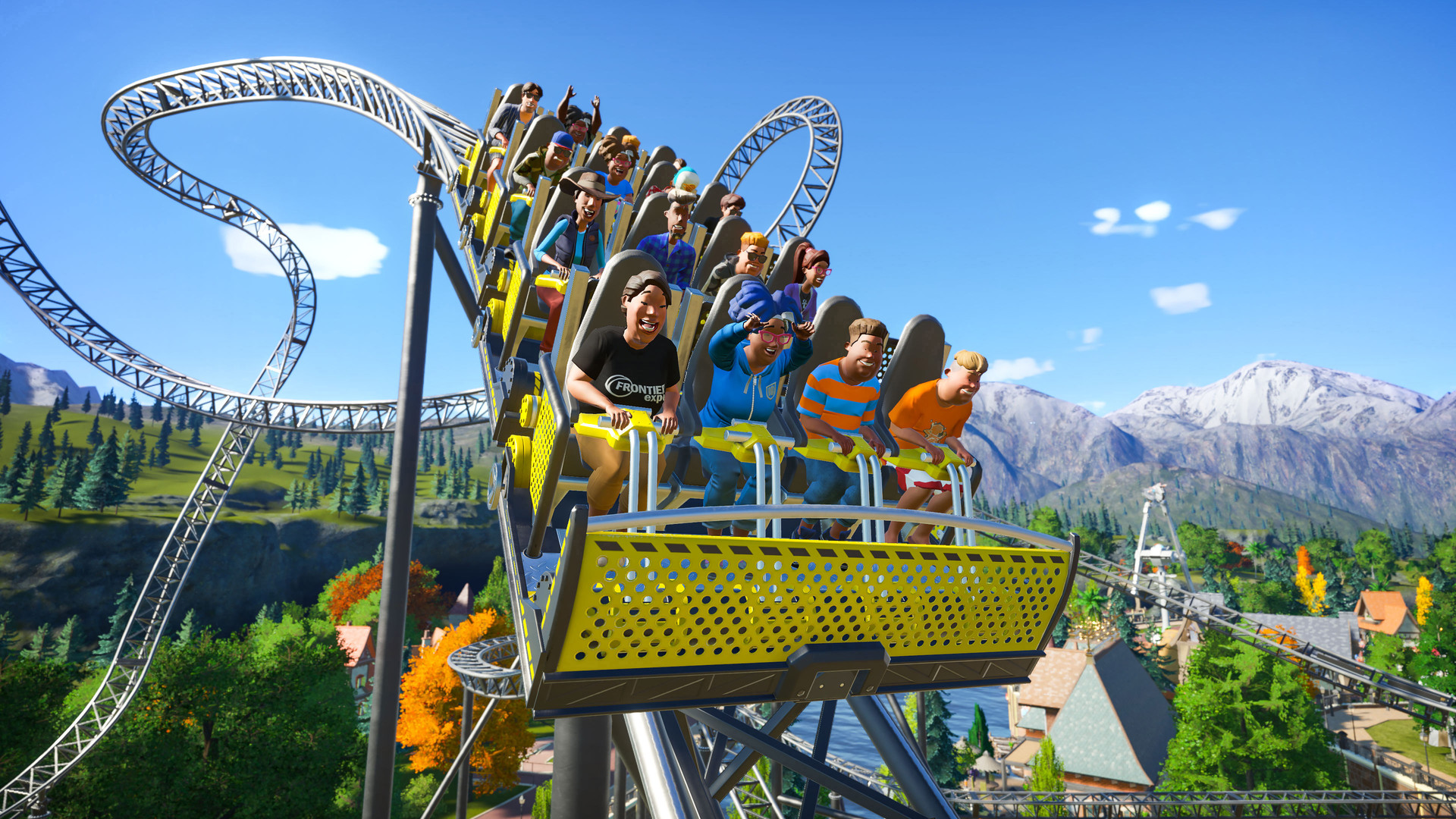 Get on some of the best theme park rides while you are at home