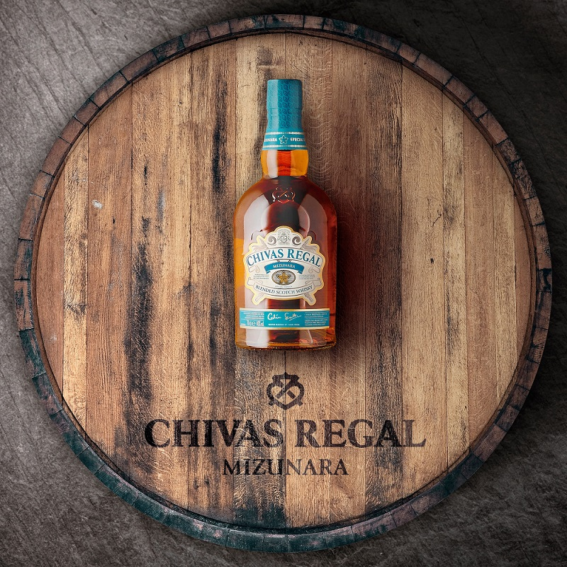Crossover Appeal: Chivas Regal Mizunara