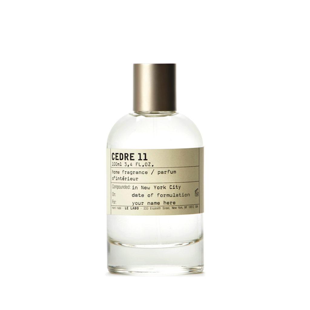 Cedre 11 Home Fragrance, Le Labo. Photo: Le Labo