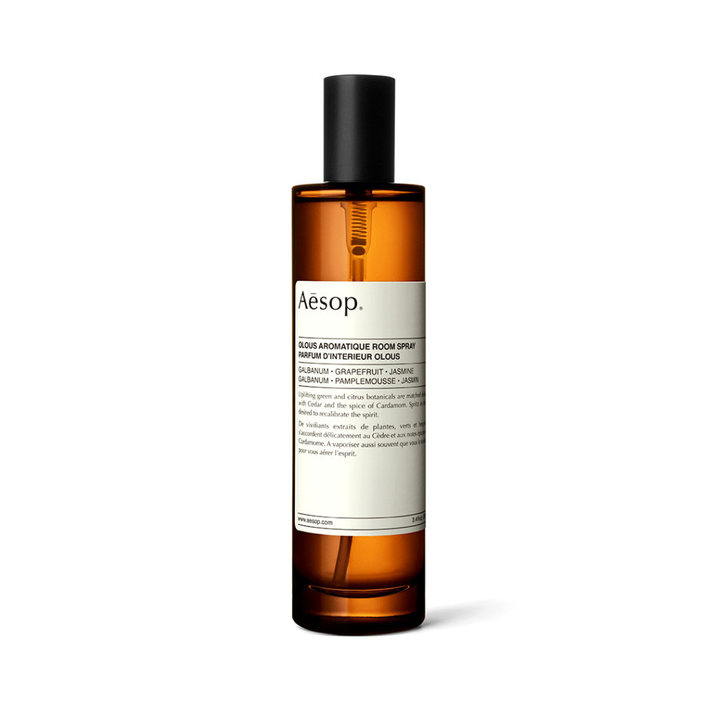 Olous Aromatique Room Spray, Aesop. Photo: Aesop