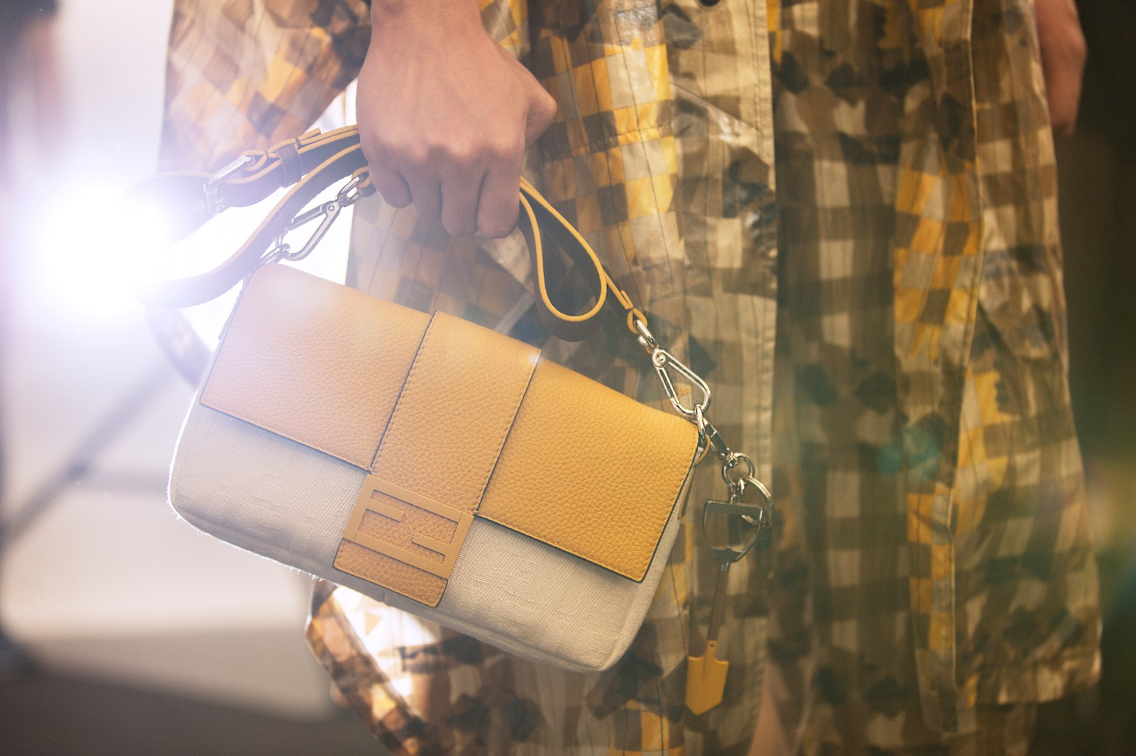 The Fendi Baguette for men is here; an iconic silhouette reimagined