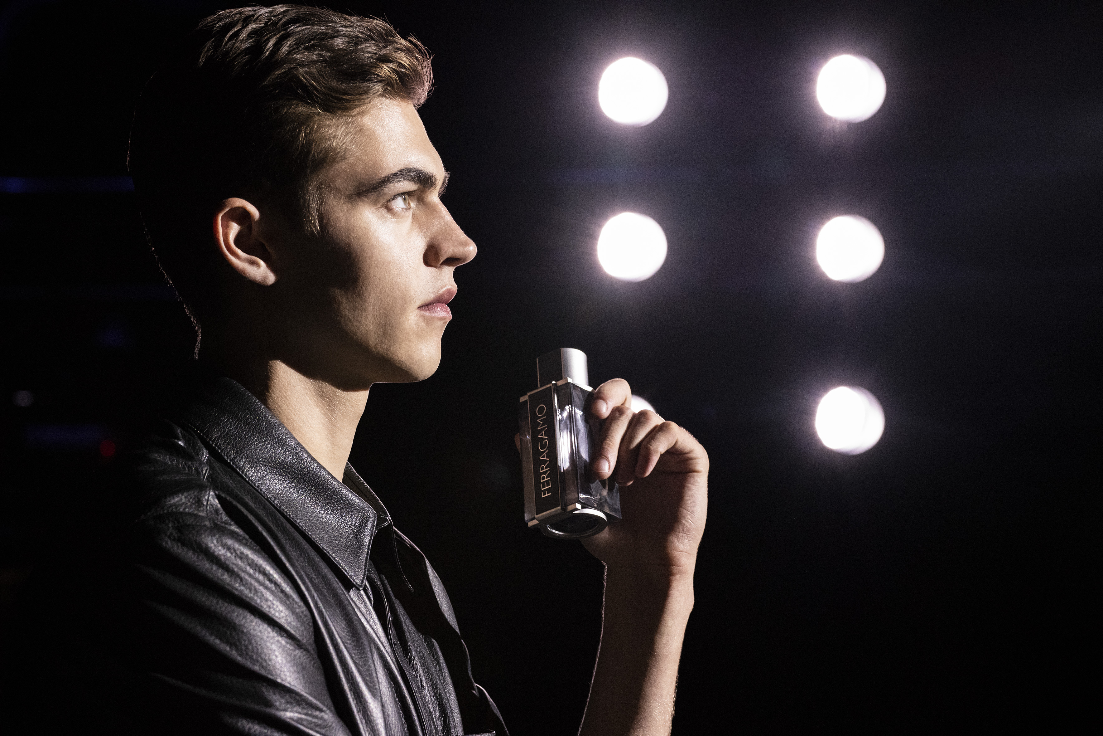 A Bright Spark: 5 Minutes With Ferragamo Fragrance's Latest Face, Hero Fiennes-Tiffin