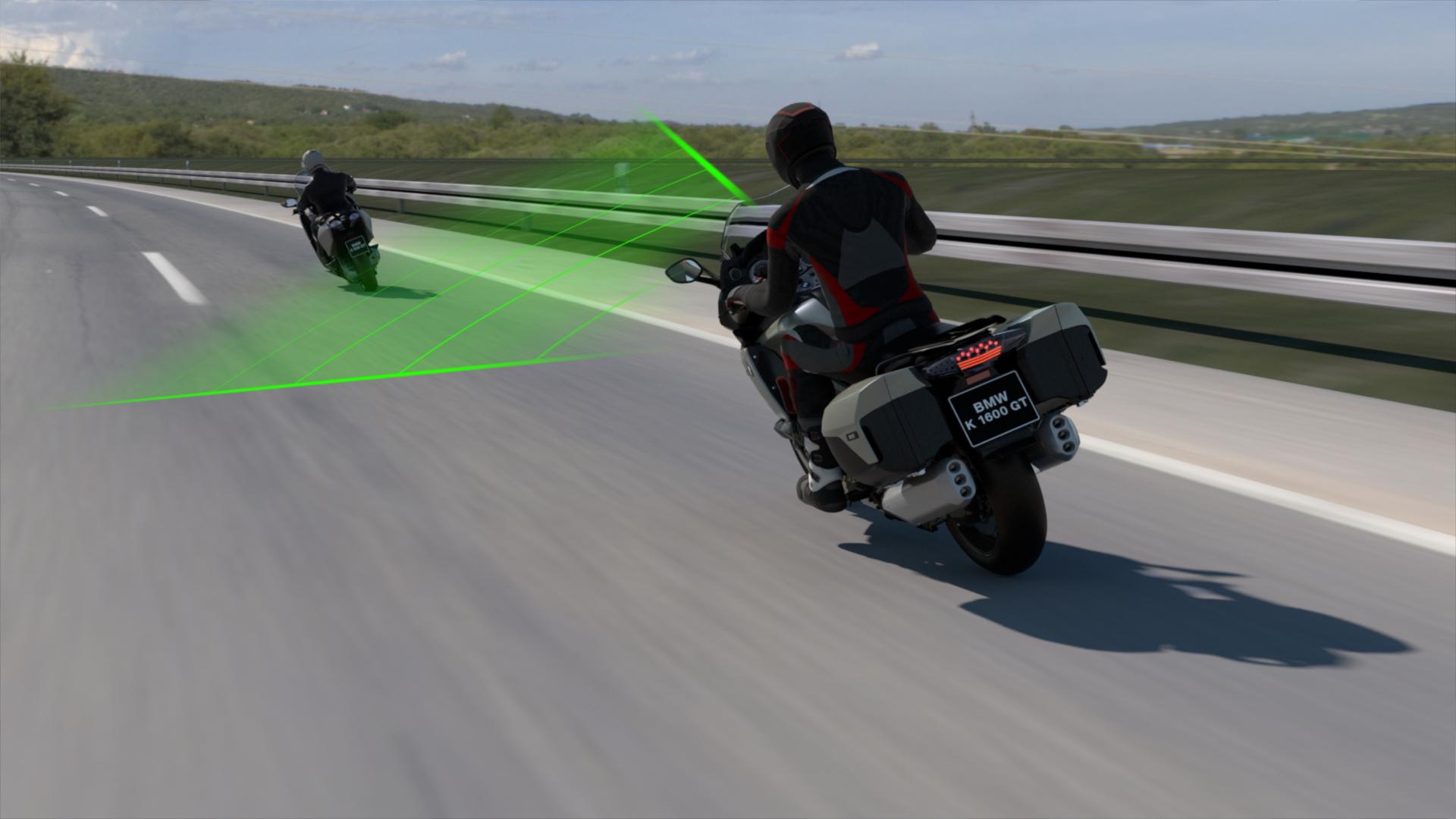 BMW Motorrad Unveils A New Active Cruise Control