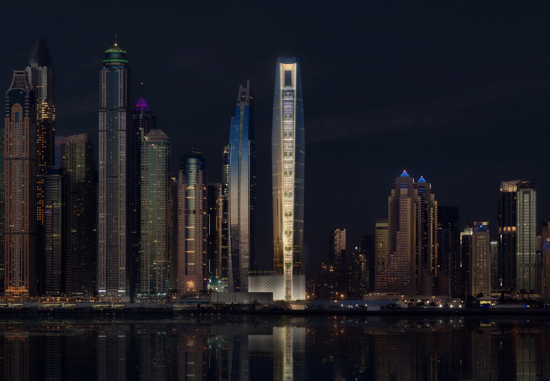 Ciel Hotel, Dubai Marina Set To Be The World's Tallest Hotel