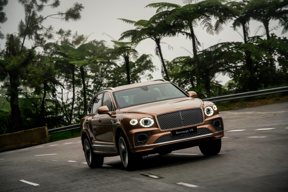 The Bentley Bentayga V8 Is A Luxury SUV Like No Other