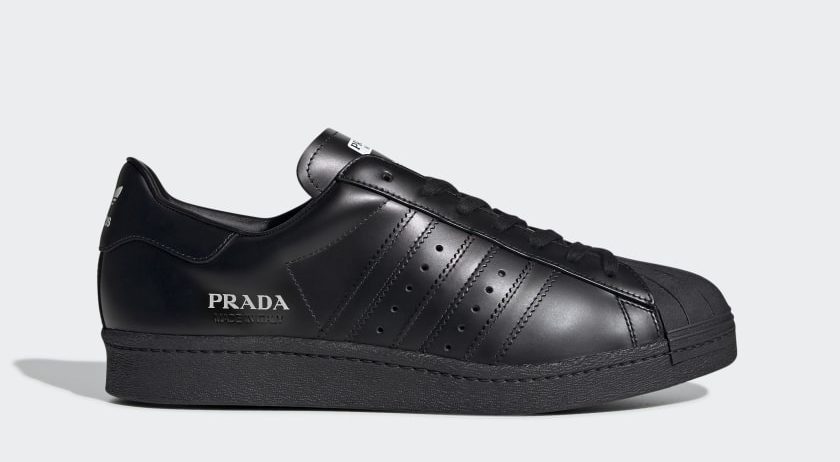 Check Out The Adidas X Prada Superstar That Is Priced Around RM2,000