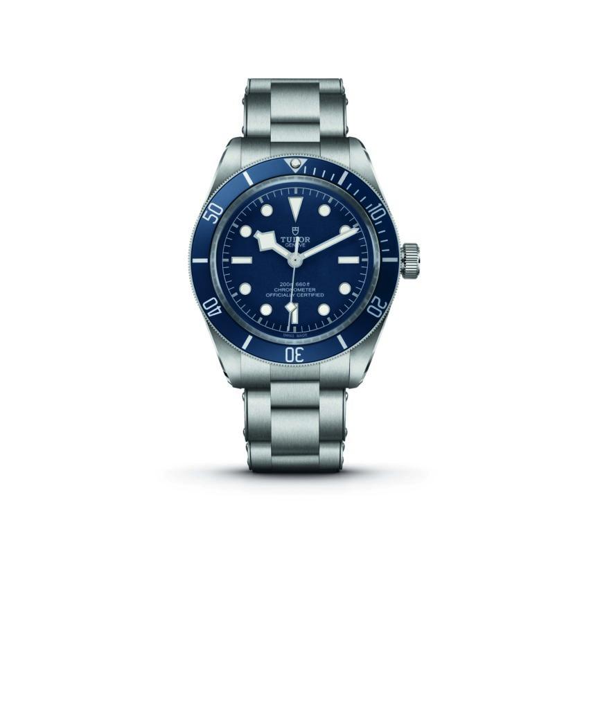 Tudor Black Bay Fifty-Eight Navy Blue in steel case and steel bracelet