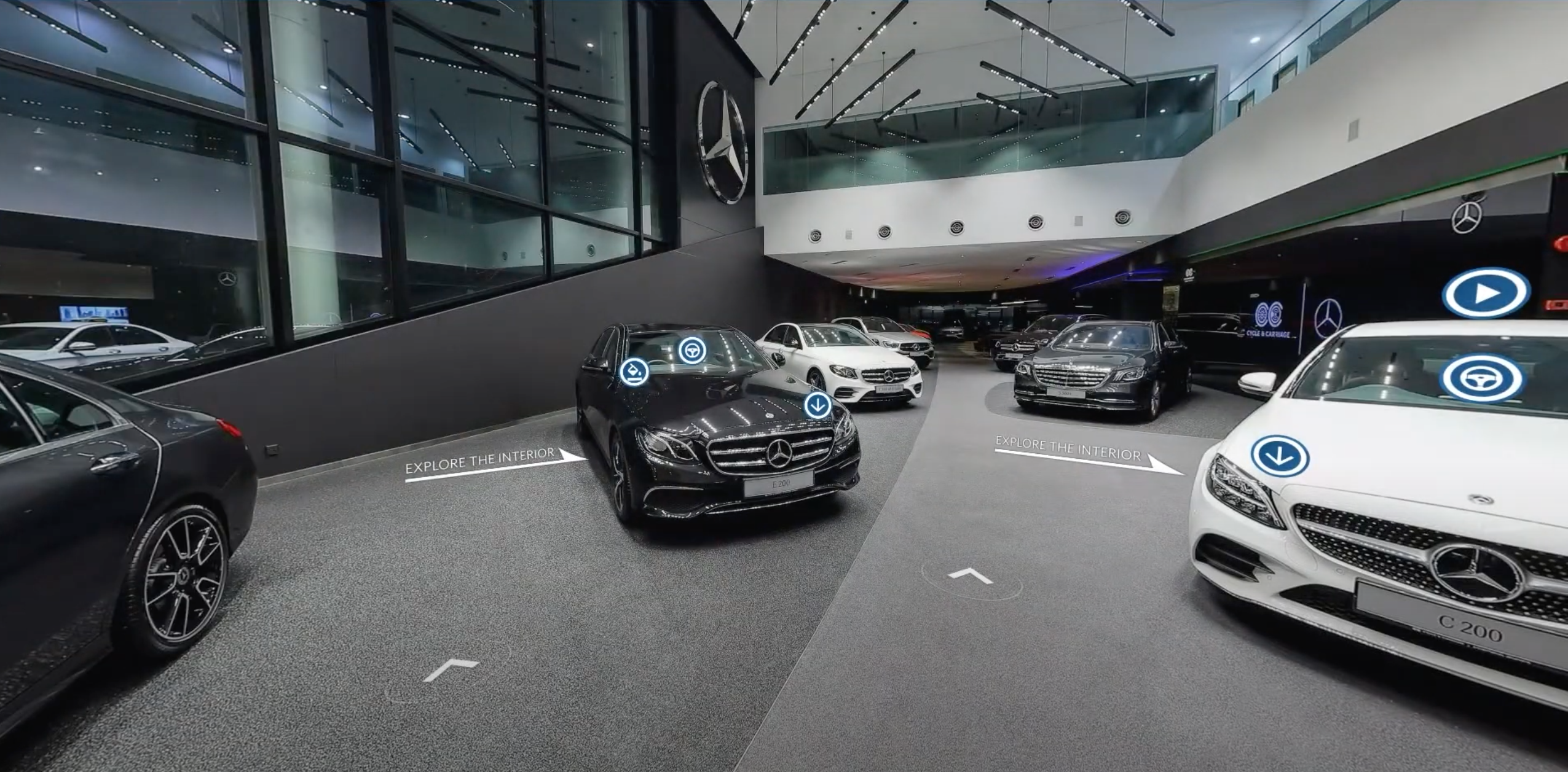 Cycle & Carriage Present Malaysia's First Mercedes Virtual Showroom