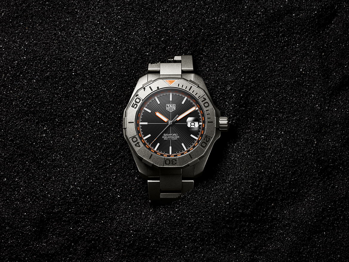 TAG Heuer and Bamford deliver an urban-chic Aquaracer