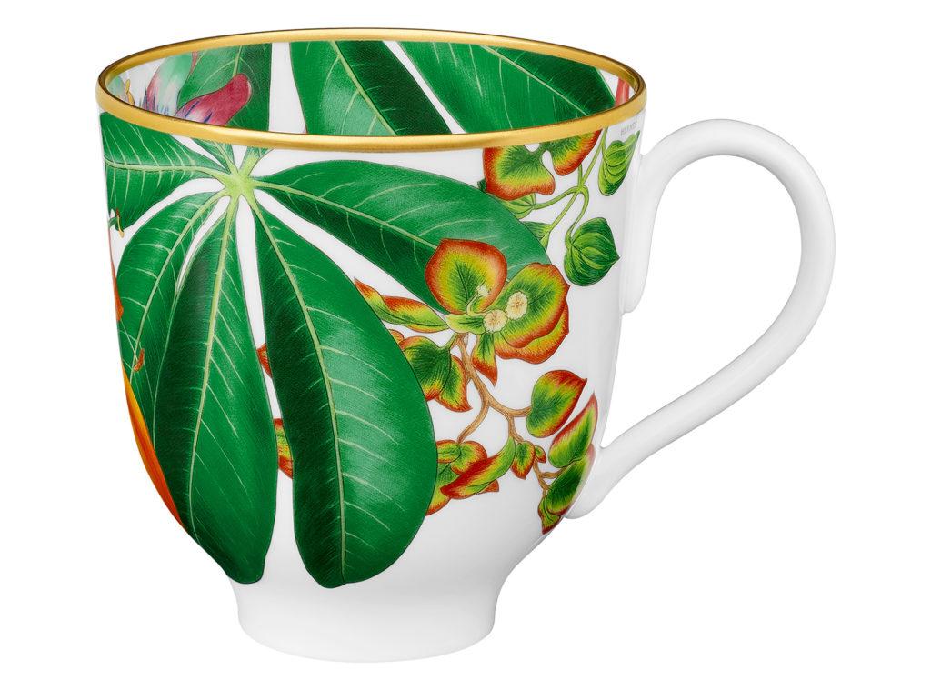 Passifolia mug in porcelain