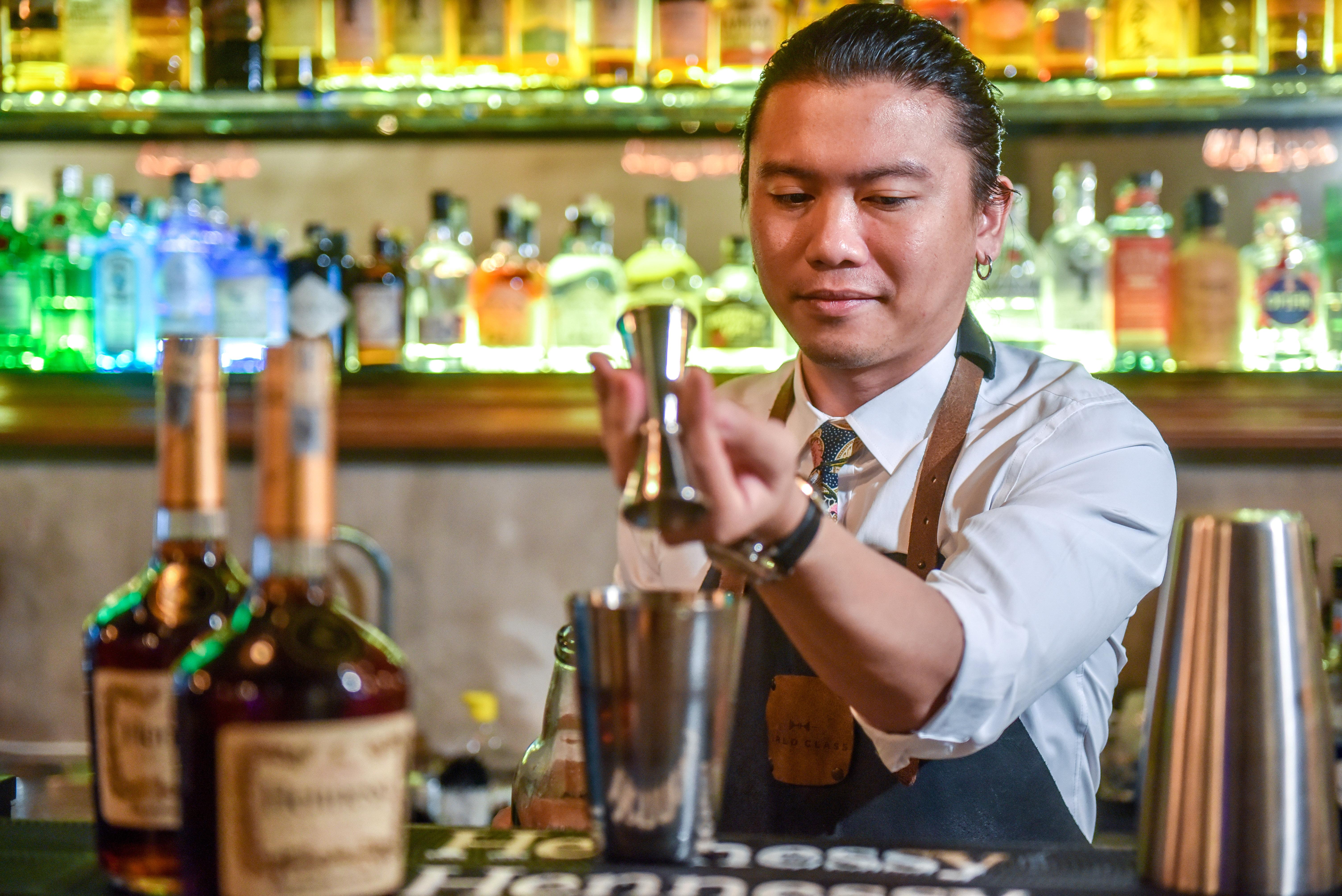 Osmund Bernard Helps Us Enjoy Hennessy VS The 'Wrong' Way