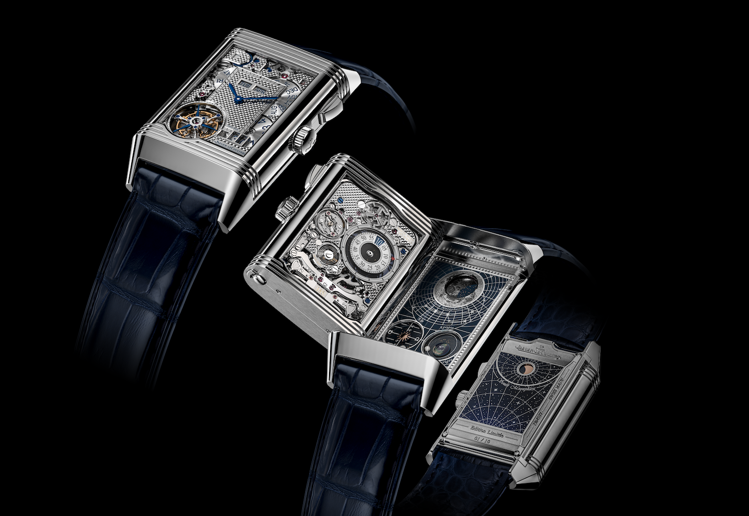 New Jaeger-LeCoultre Reverso Hybris Mechanica Quadriptyque Is A Cosmos On The Wrist