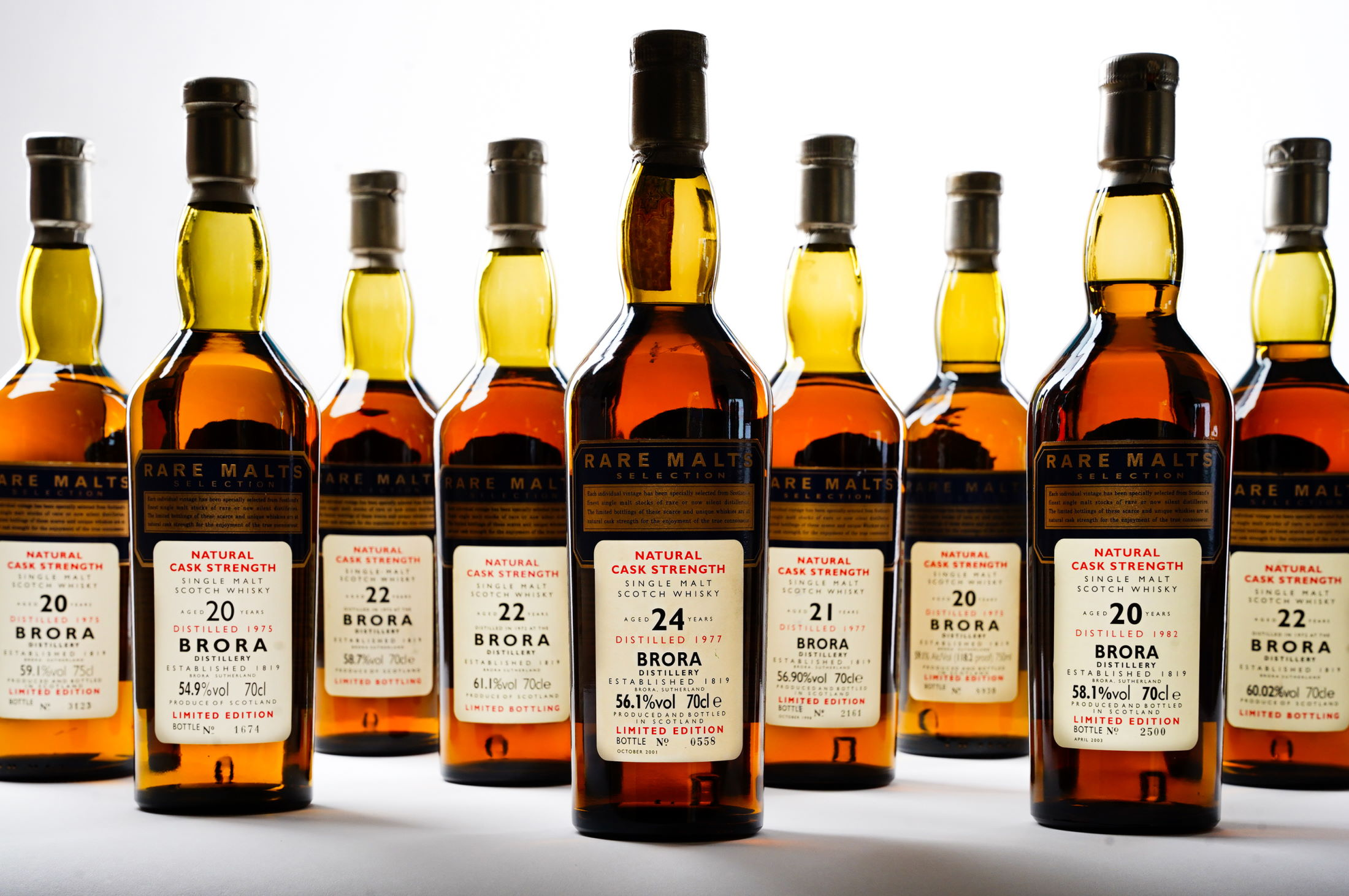Lost Distillery: Rare Brora Whiskies Are Going Under The Hammer