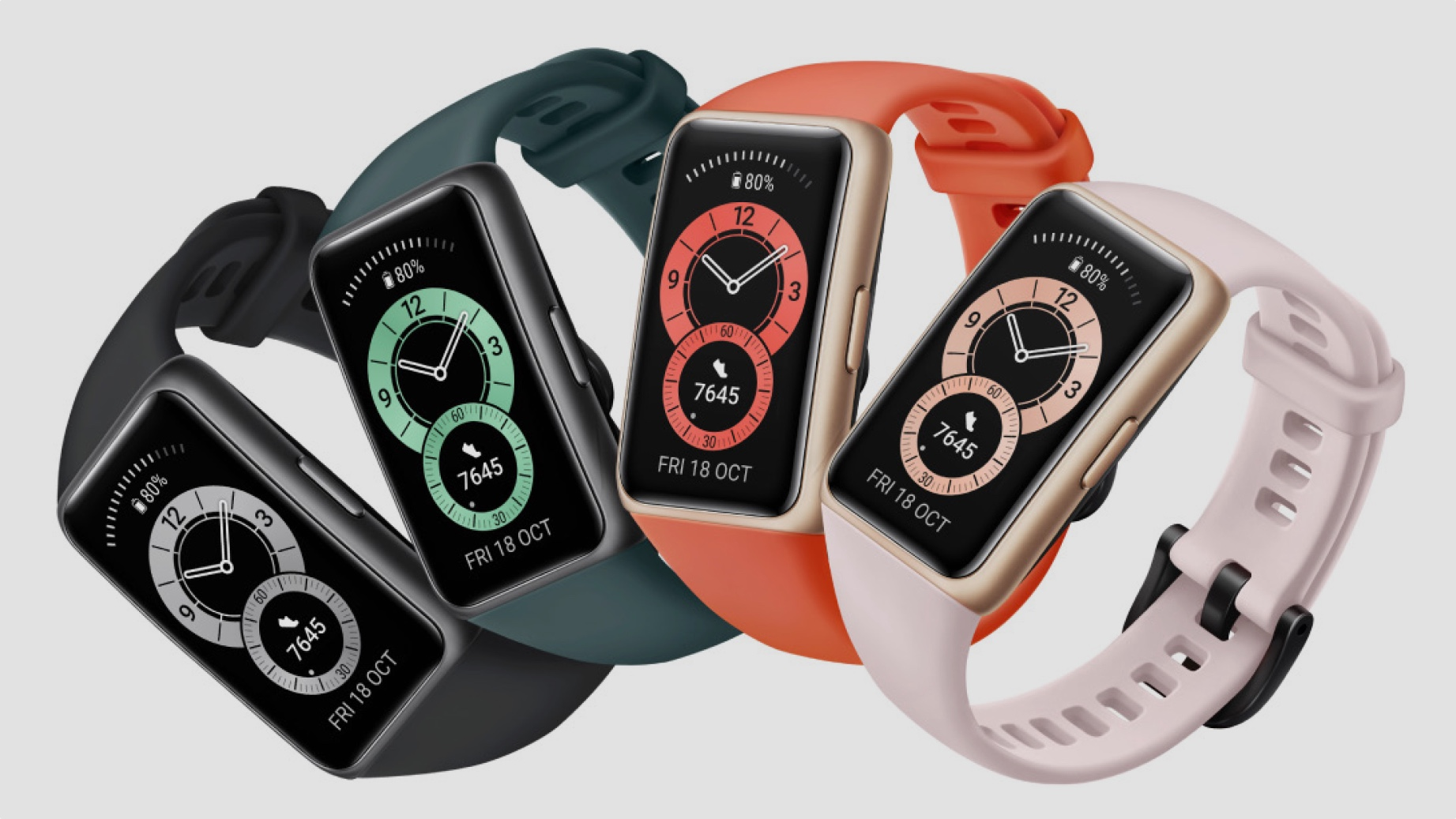 Get On Track With The Huawei Band 6 And Huawei Freebuds 4i