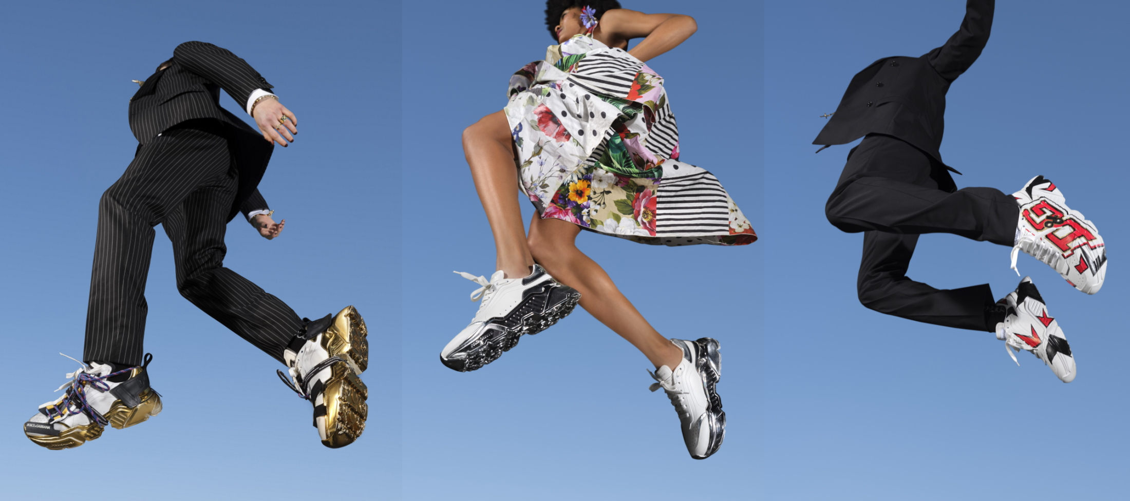 Dolce & Gabbana Updates Its Day Master Sneakers