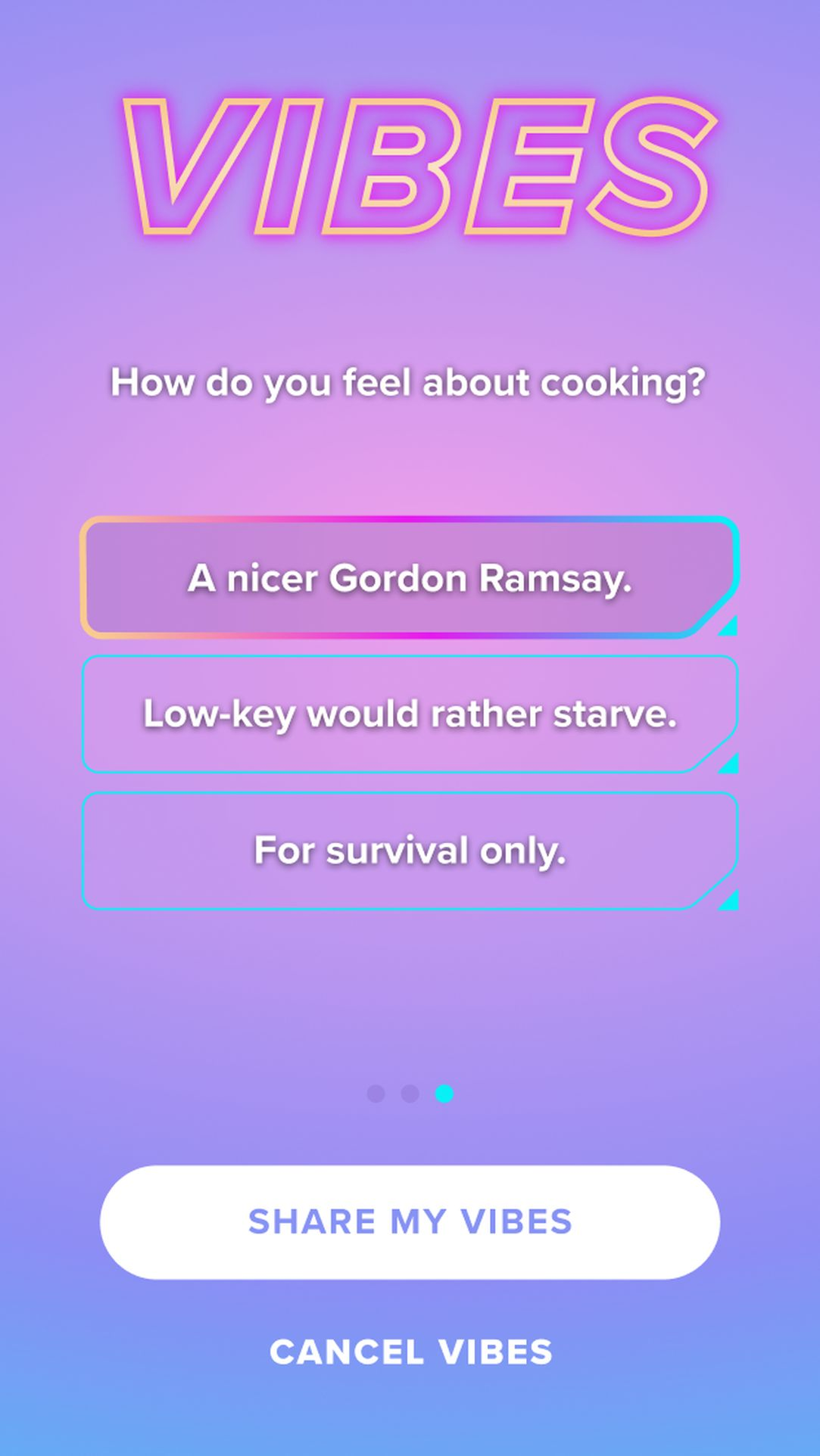 Tinder Gets Playful With Vibes, A New Quiz Feature